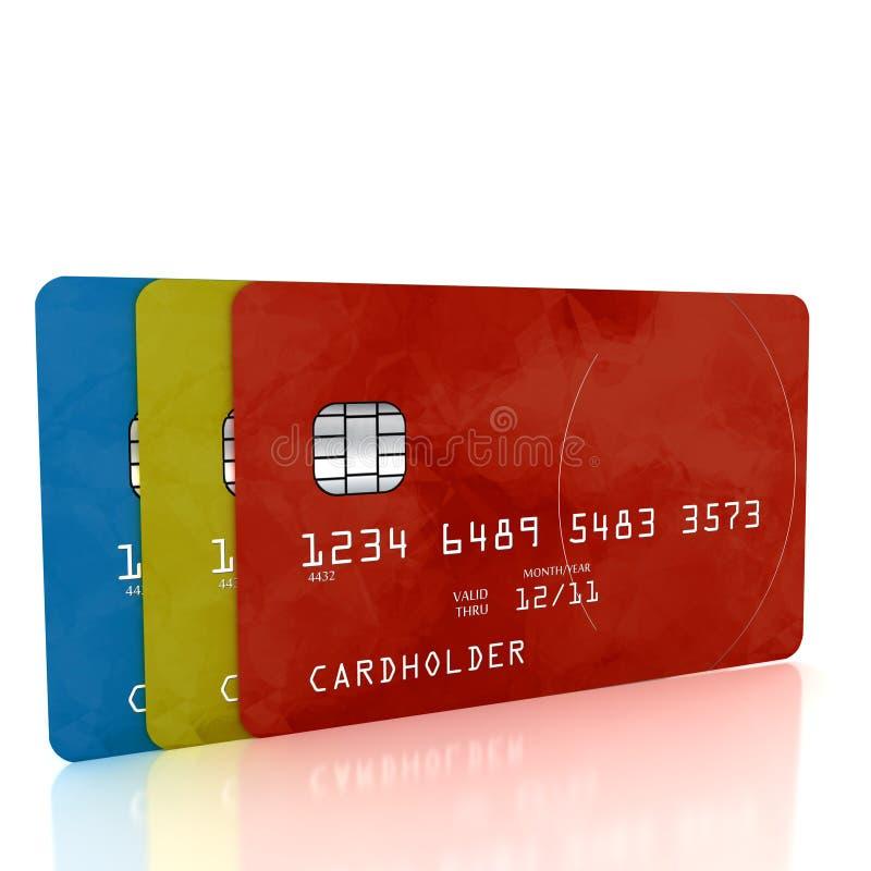 Credit Cards stock photos