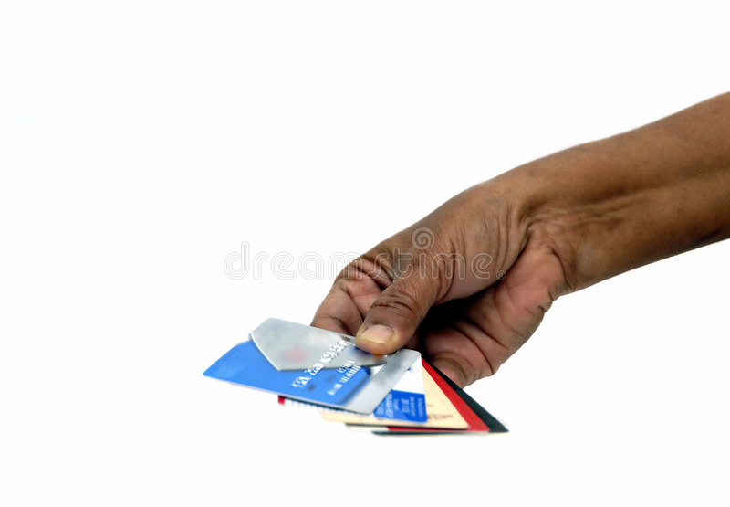 Download Credit Cards stock image. Image of hold, financial, gesture - 2194295