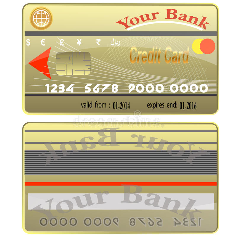 Credit Cards. Royalty Free Stock Image