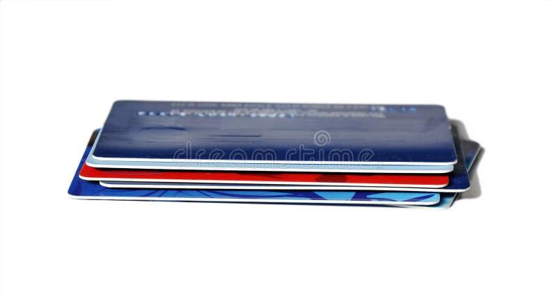 Credit cards banking stock photos