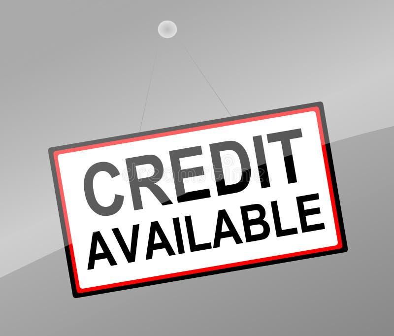 Download Credit concept. stock illustration. Illustration of arrangement - 31872998