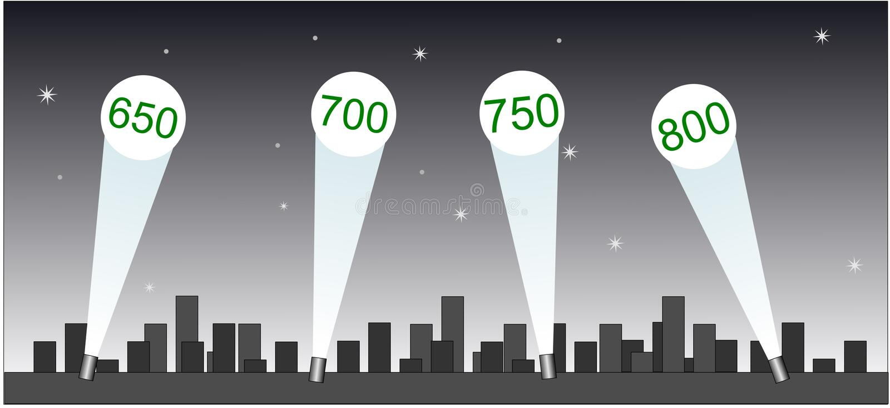 Download Credit Spot stock vector. Image of star, light, score - 6921529