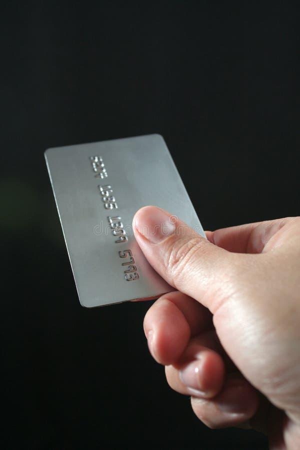 Creditcard royalty-vrije stock foto