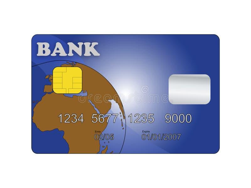 Creditcard royalty-vrije illustratie