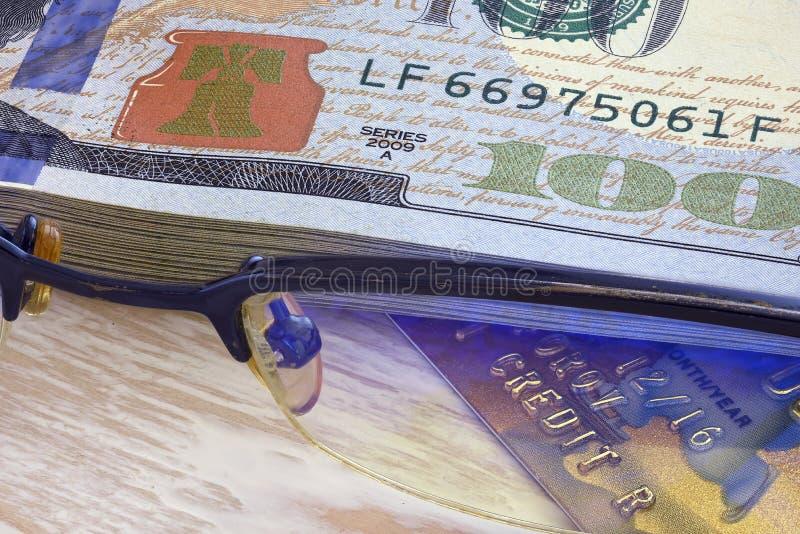 Creditcardclose-up 2 stock fotografie