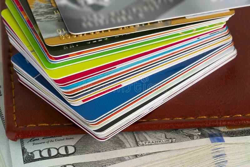 Creditcardclose-up royalty-vrije stock afbeeldingen