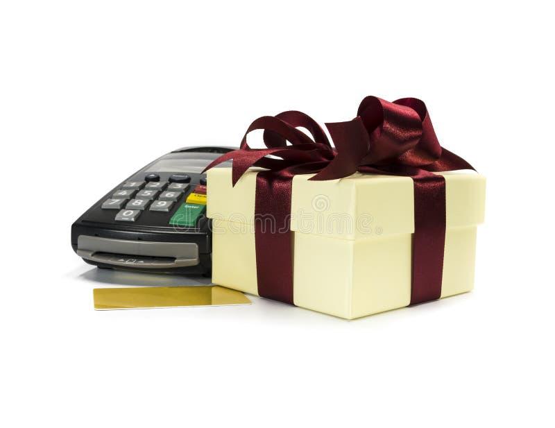 Download Creditcardmachine stock foto. Afbeelding bestaande uit gift - 29504188