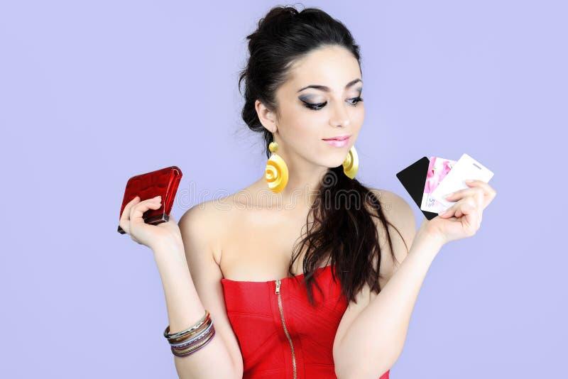 Creditcards royalty-vrije stock afbeelding