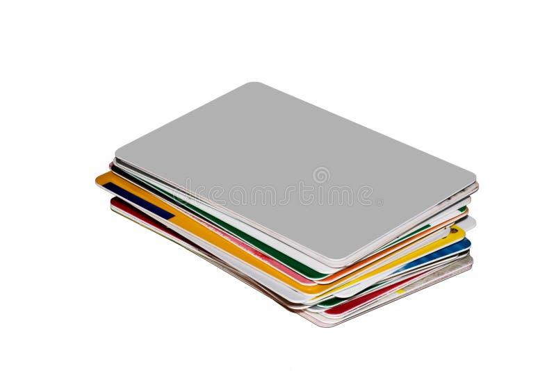 Creditcards fotografia stock libera da diritti