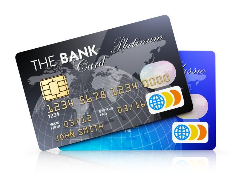 Creditcards vector illustratie
