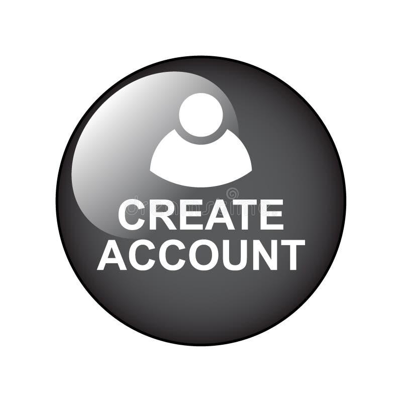 Cree la cuenta stock de ilustración