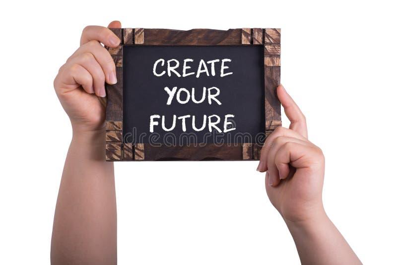 Cree su futuro imagenes de archivo