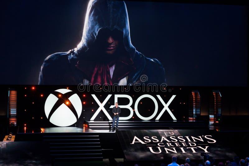 Creed Unity de l'assassin images stock