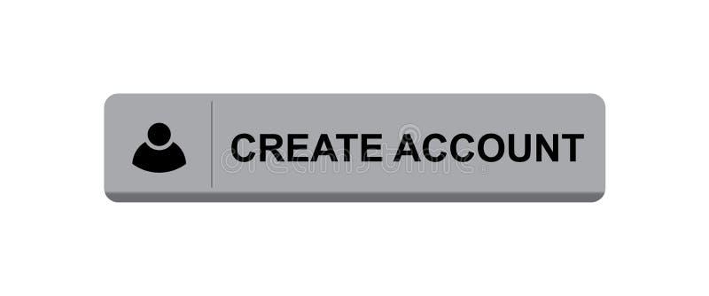 Creeer rekening vector illustratie