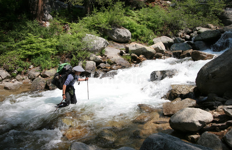 Download Creek, John Muir Trail stock photo. Image of hiking, distance - 4814834