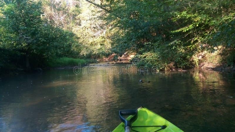 Creek primaveral Riceville Tennessee imagenes de archivo