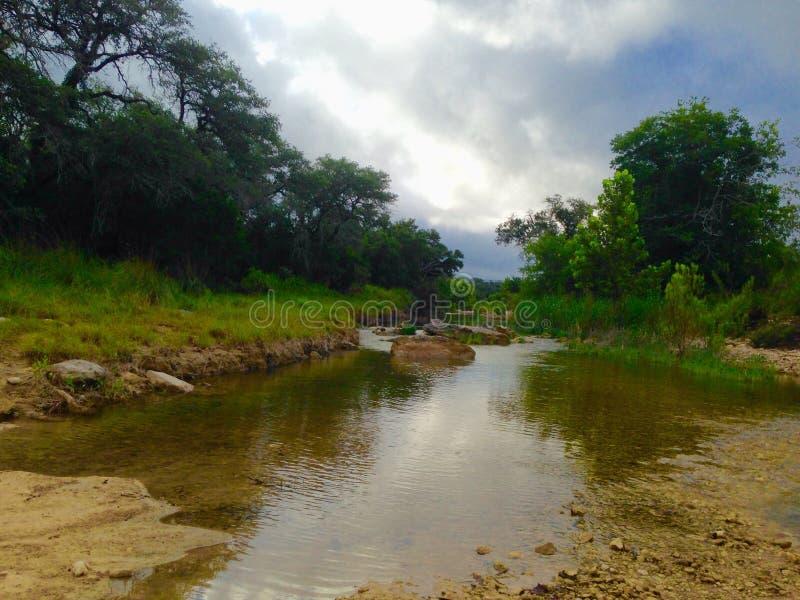 creekside fotografia stock