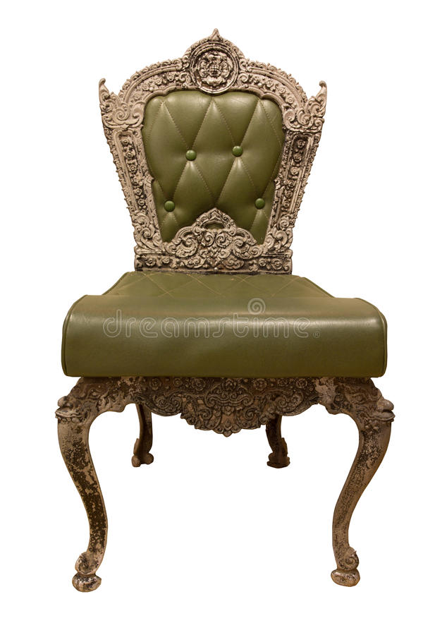 Creen Classic And Luxurious Armchair Stock Image