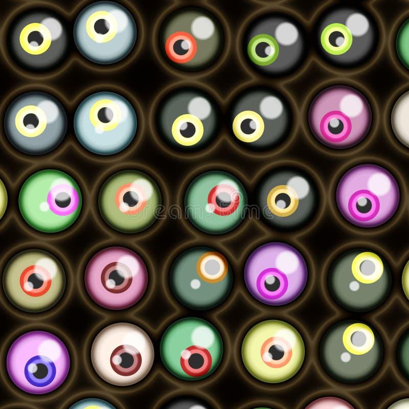 Creepy Eyeball Royalty Free Stock Photography