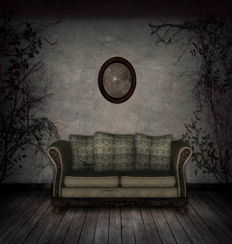 Download Creepy Room Royalty Free Stock Photography - Image: 21407967