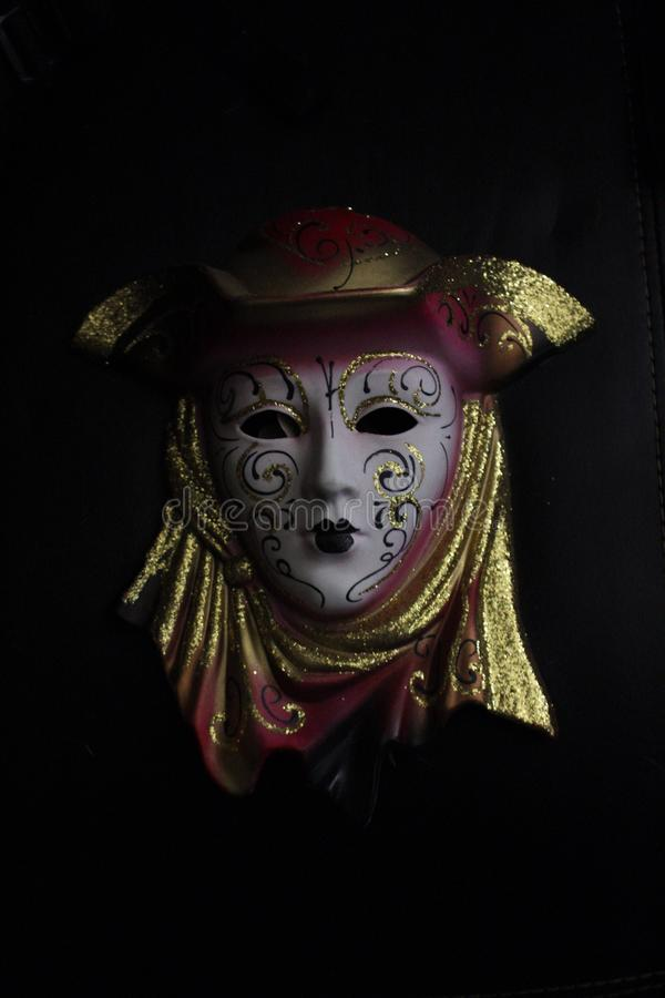 Creepy scary mask royalty free stock images