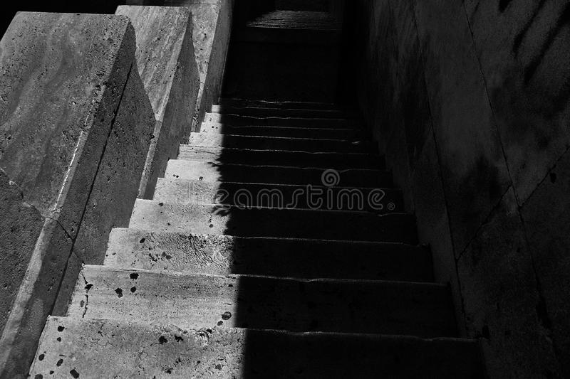Download Creepy Stairs stock photo. Image of grunge, mysterious - 98150976