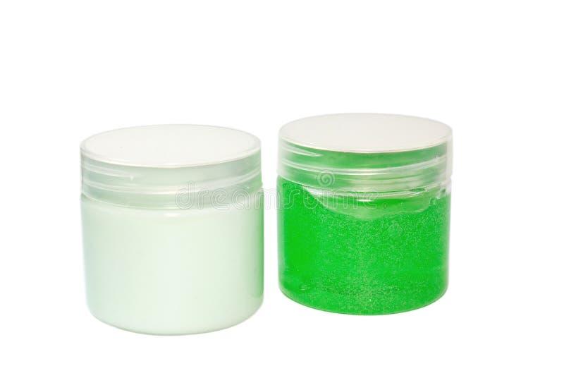 Crema cosmetica immagini stock