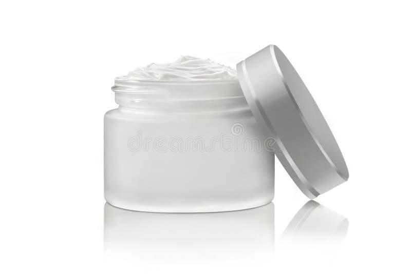 Crema de cara cosmética de lujo imagen de archivo libre de regalías
