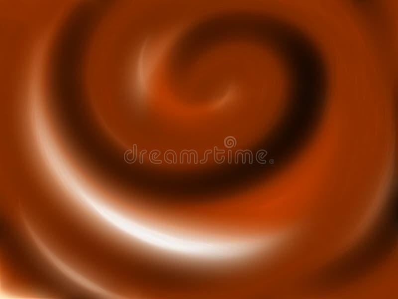Crema del chocolate imagen de archivo libre de regalías