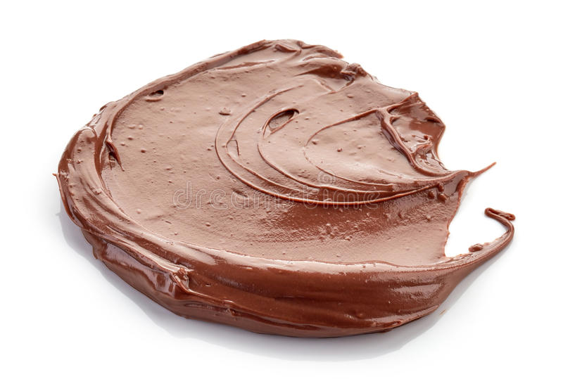 Crema del chocolate imágenes de archivo libres de regalías