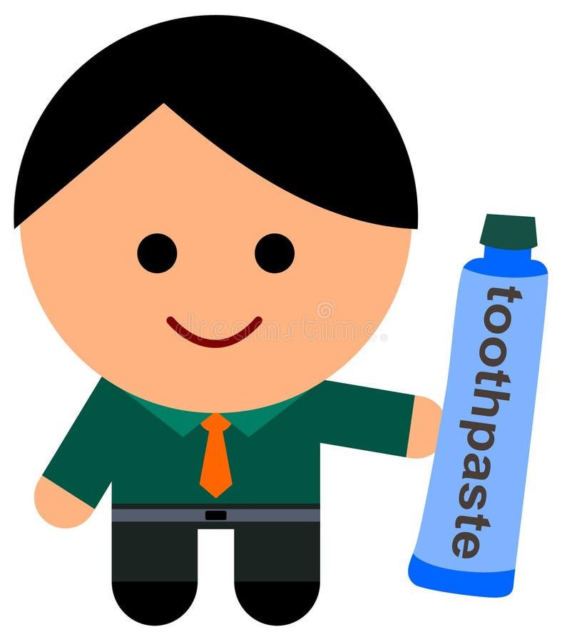 Download Crema Dental Para El Negocio Stock de ilustración - Ilustración de higiene, negocios: 42429328