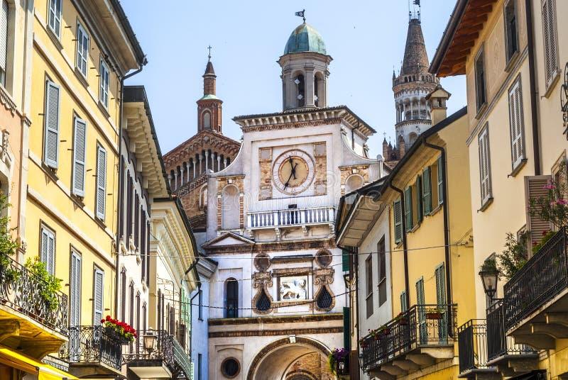 Crema (Italia) immagine stock libera da diritti