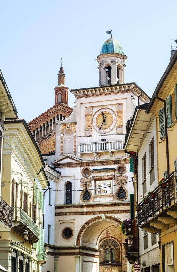 Crema (Italien) arkivbild