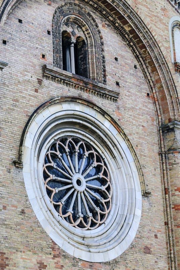 Crema (Italien): Duomo royaltyfri fotografi