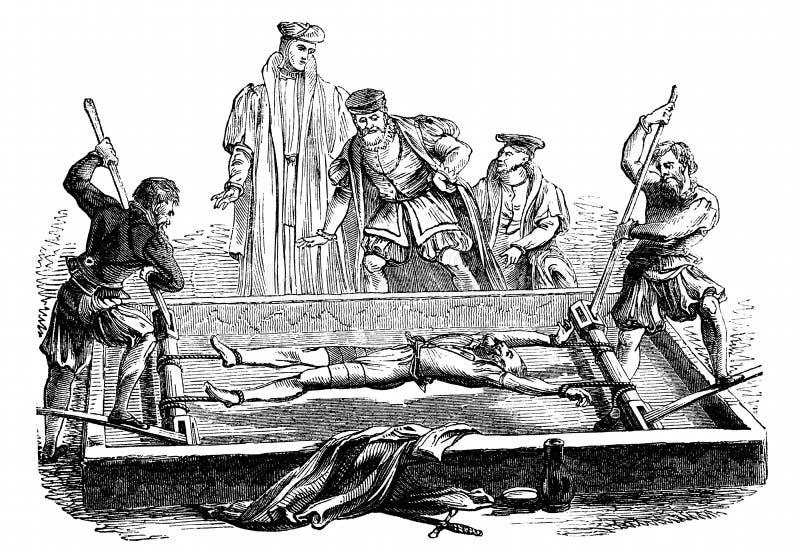 A cremalheira ilustração stock