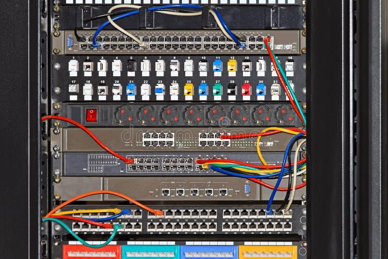 Cremalheira da rede imagens de stock