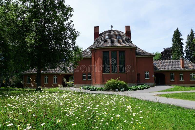 Crematório no tuttlingen imagem de stock
