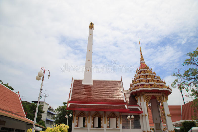 Crematório para budistas imagem de stock