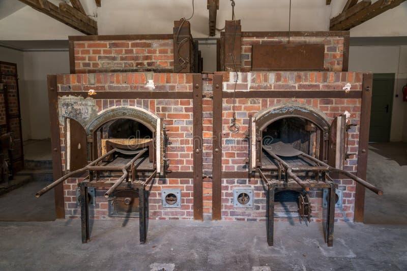 Crematorio di Dachau immagine stock libera da diritti