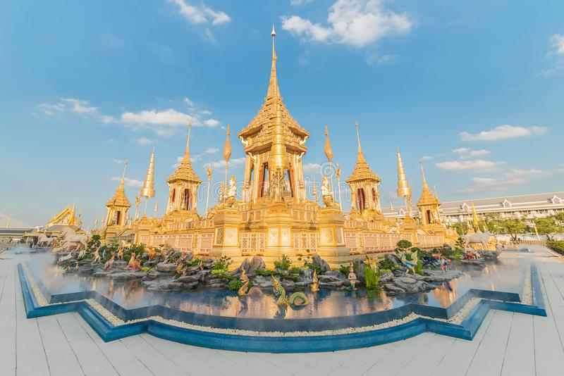 Crematorio reale Bangkok fotografie stock