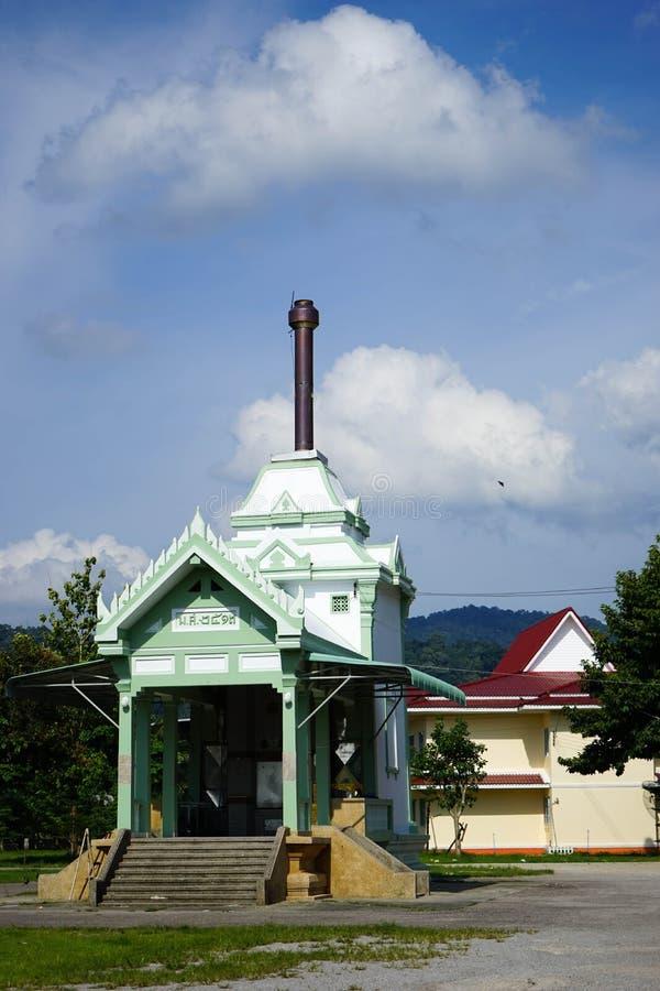Crematorio tailandés imagen de archivo libre de regalías