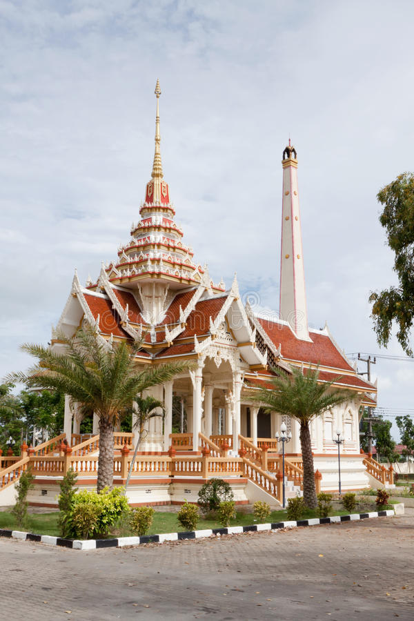 Crematorium. In the temple of Wat Chalong in Phuket; Thailand stock photos