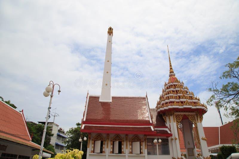 Crematorium dla buddhists obraz stock
