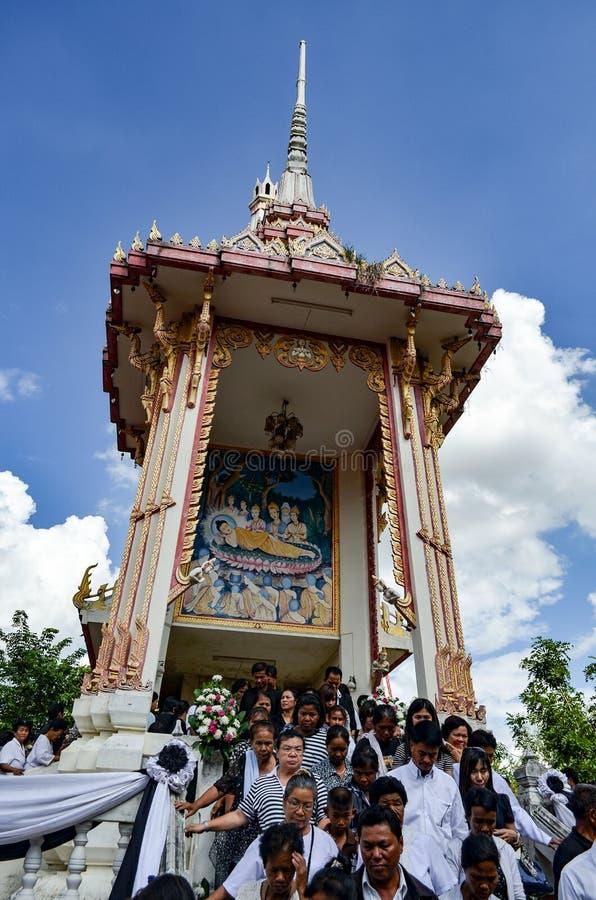 Crematorium Tajlandia obraz royalty free