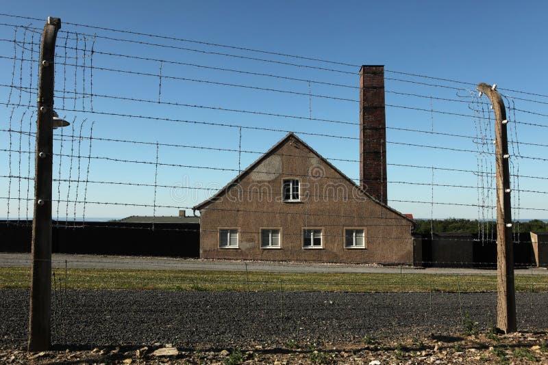 Crematorium w Buchenwald koncentracyjnym obozie obraz royalty free