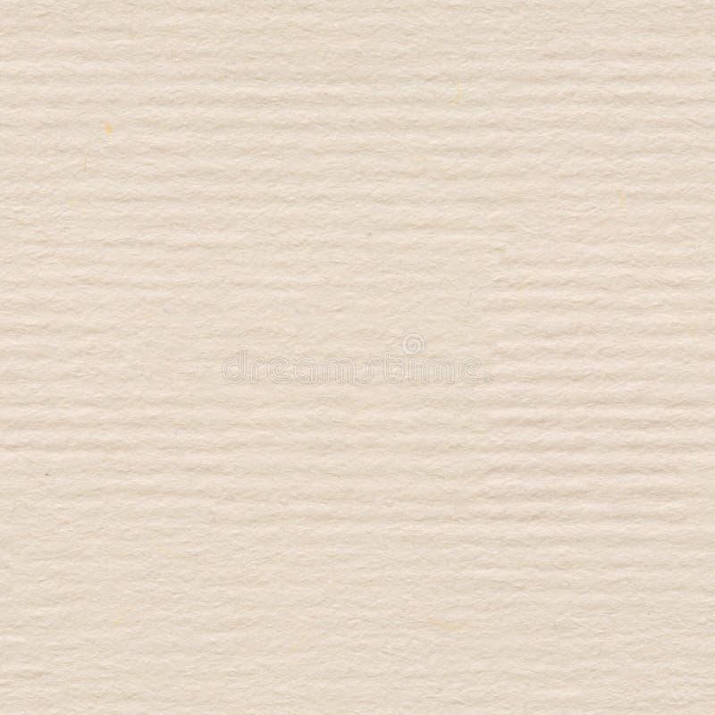 Creme, Büttenpapierbeschaffenheit Nahtloser quadratischer Hintergrund, Fliese lizenzfreies stockbild