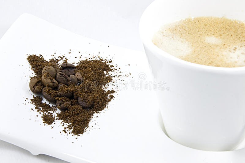 Creme coffee stock photography