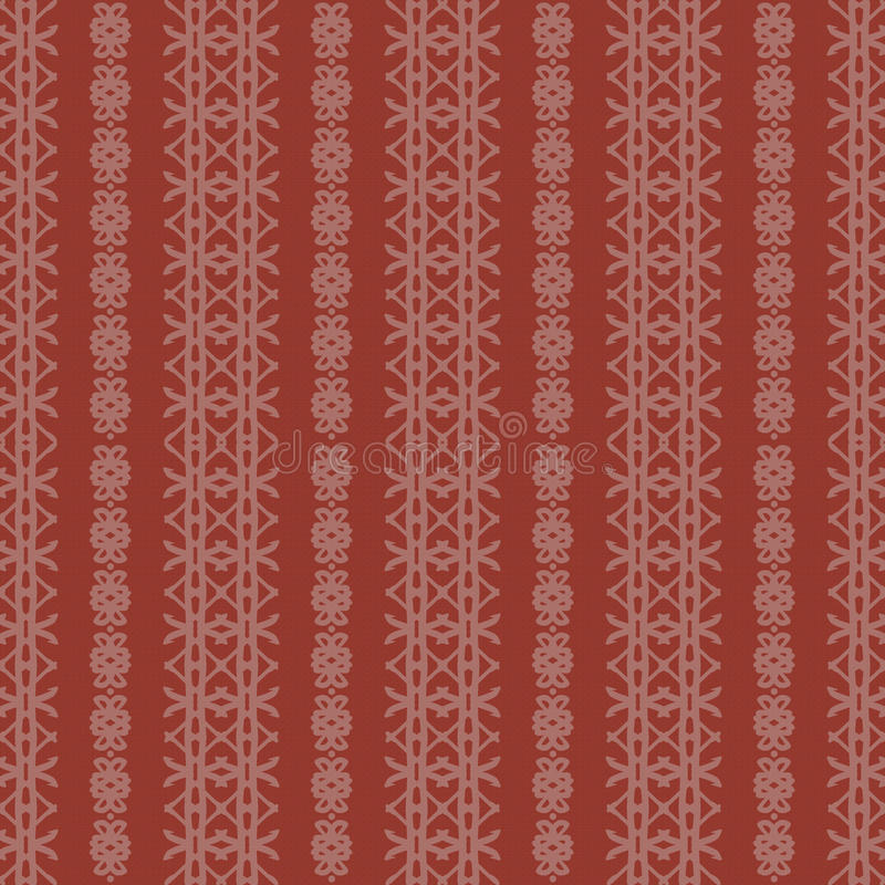 Download Creme And Red Rough Damask Seamless Pattern Stock Illustration - Image: 19336088