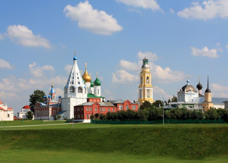 Cremlino di Kolomna immagine stock