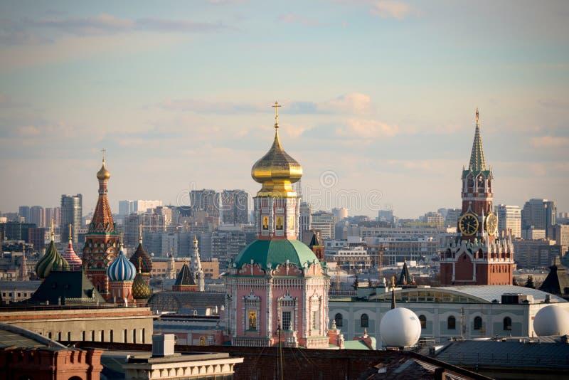 Cremlino di Mosca, Mosca, Russia, architettura storica fotografia stock libera da diritti